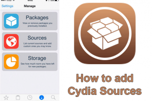 add Cydia Sources to Cydia app