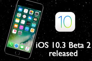 iOS 10.3 beta 2 released