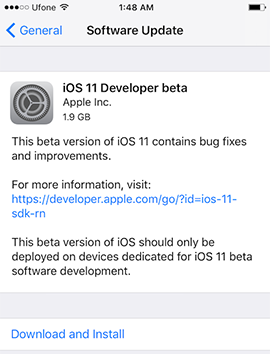iOS-11-Developer-beta-OTA