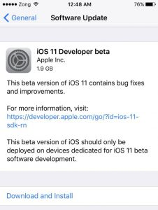 iOS-11-beta-download