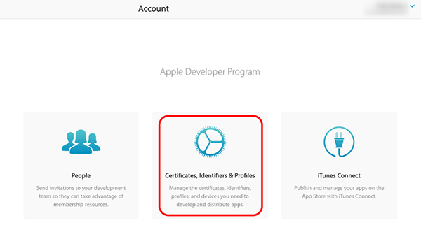 itunes-Certificates-Identifiers-Profiles