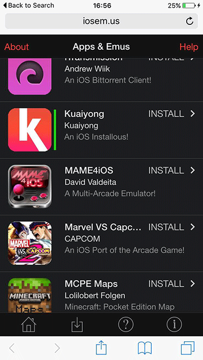 Download kuaiyong for ios (9-9. 4/9. 3/9. 3. 1/9. 2. 1) on iphone/ipad.