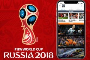 FiFA World Cup 2018 on iPhone
