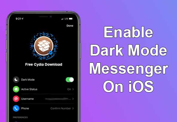 How to Enable Facebook Messenger Dark Mode On iPhone and